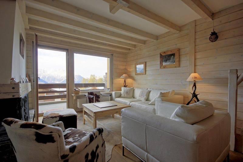 Living room verbier chalet propertis rental