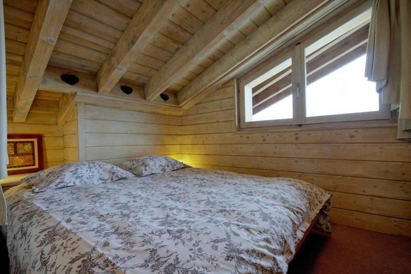 Chalet bedroom in verbier switzerland