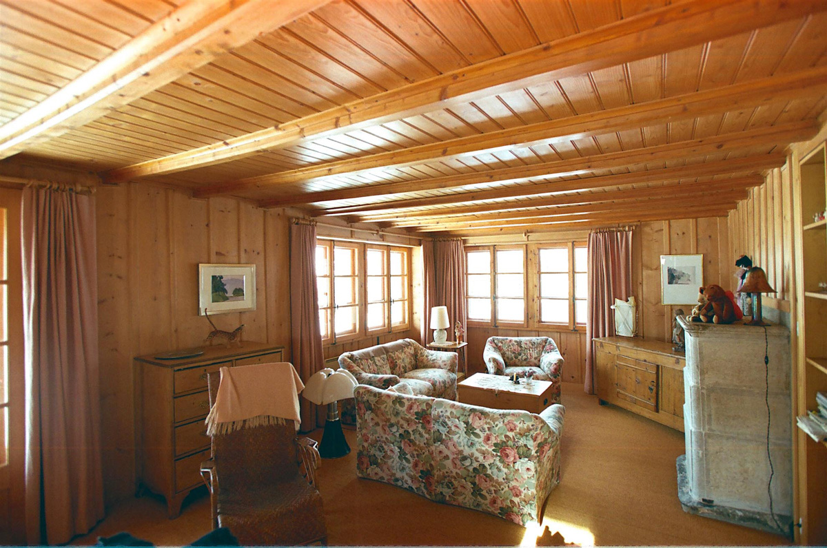 View living roomf of chalet polli property