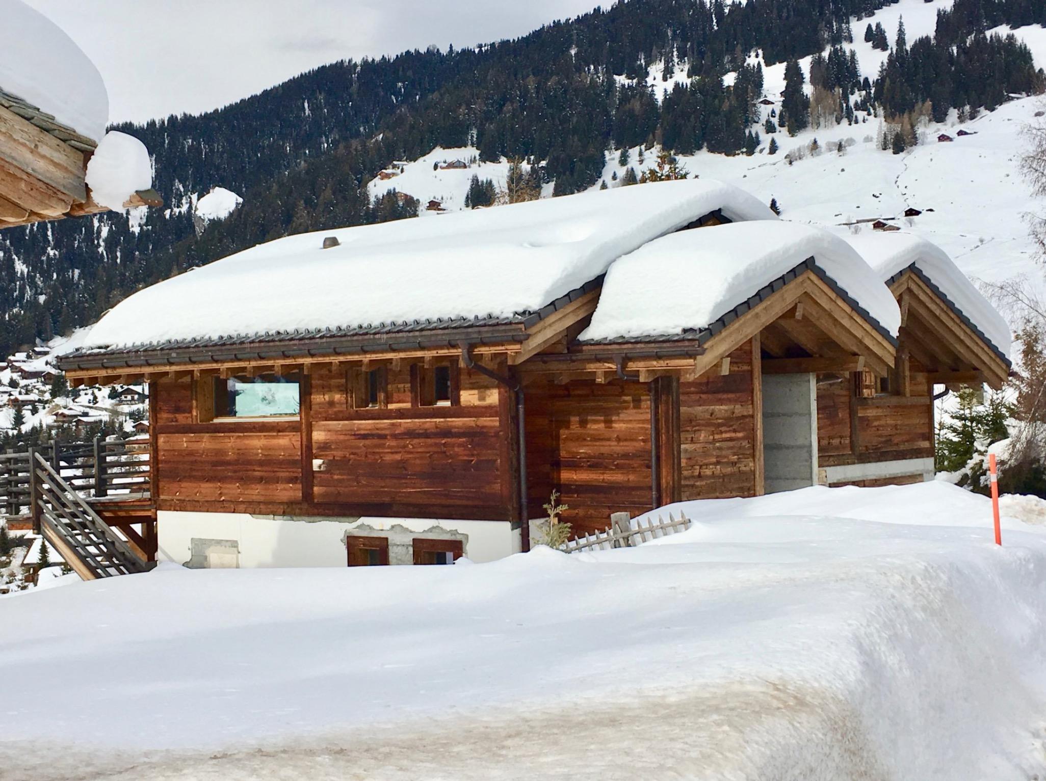 Winter chalet IV verbier full snow seen
